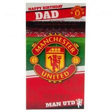MANCHESTER UNITED FC Dad Birthday Card MAN UNITED PRESENT XMAS GIFT