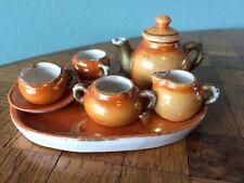 altes Kaffeegeschirr Porzellan  große Puppenstube Puppenküche dollhouse dishes