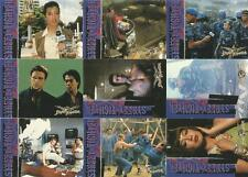 Street Fighter the Movie Full 90 Card Base Set of Trading Cards from Upper Deck