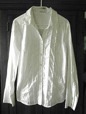 Stretch - Bluse von Bonita Gr. 44 46 weiss