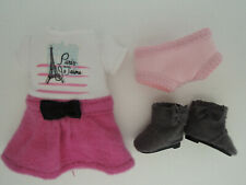 """Grace American Girl MINI 6"""" Doll Outfit Dress Panties Boots ONLY New"""