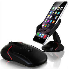 iPhone 8 8plus X 10 Rotating Windscreen in Car mobile Phone Holder Mount Cradle