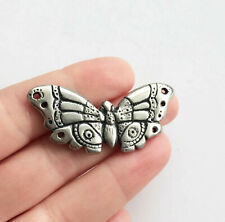 moth butterfly jewelry gift Butterfly pin brooch pewter artisan