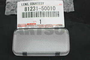 8123150010 Genuine Toyota LENS (FOR FRONT DOOR COURTESY LAMP), RH/LH 81231-50010