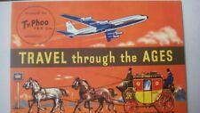 TYPHOO TEA, TRAVEL THROUGH THE AGES ALBUM, EMPTY AND UNUSED EXCELLENT 1962