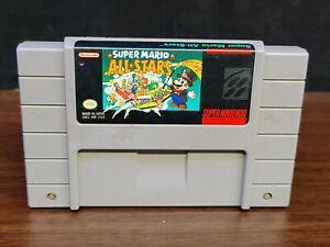 SNES Game: Super Mario All-Stars - Super Nintendo Cartridge only