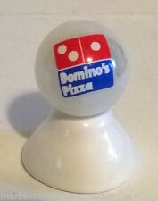 DOMINO'S PIZZA LOGO ON WHITE PEARL MARBLE