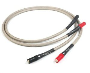 Chord Epic RCA Phono Analogue 1 Metre Interconnect Cable - Official Dealer