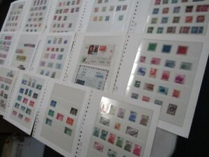 Nystamps China Large many mint old stamp & cover collection stock page