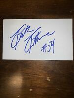 PATRICK PATTERSON - BASKETBALL - AUTOGRAPH SIGNED - INDEX CARD -AUTHENTIC -C1354