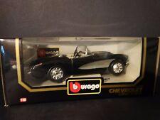 Bburago 1957 Chevy Corvette Convertible Burago 1:18 Scale Die Cast Model '57 Car