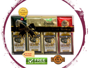 MULVADI 10% KONA COFFEE BLEND 4PK-1.75OZ 10% GIFT SET