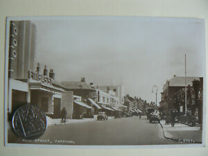 Vintage photographic postcard - Embassy Cinema, Fareham - Hampshire