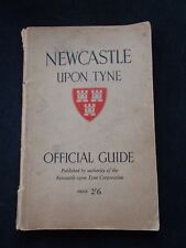 Newcastle upon Tyne Official Guide Antique Book Collectable Local Intrest