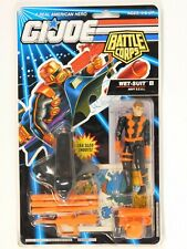 GI JOE BATTLE CORPS WET-SUIT (ORANGE) FIGURE 1993 MOC