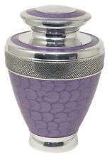 Large Cremation Urn for Ashes Adult Funeral Memorial Remembrance Purple Urn