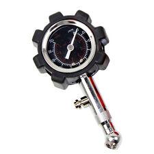 Bike Car Vehicle Motorcycle Bicycle Dial Tire Gauge Meter Pressure Tyre 0-100PSI