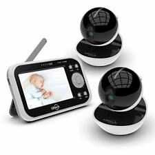 Video Baby Monitor, 2 Digital Camera & 4.3'' Wireless Video Monitor,Power Saver