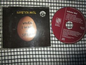 Master Wel ‎– When I Was A Sperm.  4th & Broadway ‎– BRCD 316 CD Album