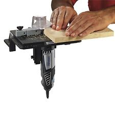 Router Table Adjustable Fence Wood Shape Tool Work Rotary Multi Attachment Bench