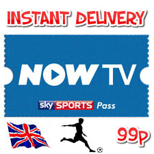 SKY SPORTS DAY PASS NOW TV (FRESH CODES)  *IMPORTANT - 1 CODE PER NOW TV ACCOUNT