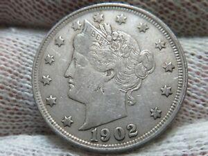 1902 Liberty V Nickel and FREE shipping