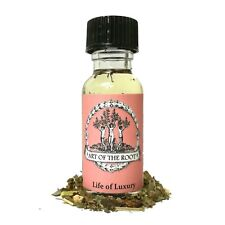 Life of Luxury Oil Wealth Money Riches Business Growth Wiccan Pagan Hoodoo Spell