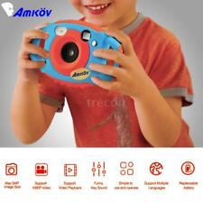AMKOV Mini 1080P 5MP HD Digital Camera Kids Children Birthday Gift Kinder Kamera