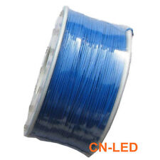 305M PCB Solder 0.25mm Tin Plated Copper Cord Dia Wire-wrapping Wire 30 AWG BLUE