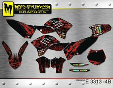 KTM SX SXf 125 250 450 525 2007 up to 2010 graphics decals kit Moto StyleMX