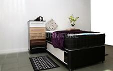 3ft Single Divan Bed With Luxury Memory Touch 25cm Deep Mattress+Sliding doors!!