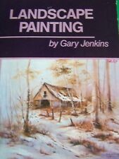 LANDSCAPE PAINTING BY GARY JENKINS 1984 OIL STEP BY STEP PAINT BOOK