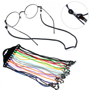 12PCS Adjustable Neck Cord Strap String Lanyard For Eyeglass Glasses Sunglasses
