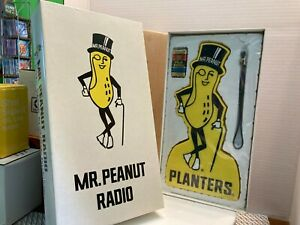 Planters Mr. Peanut Promotional AM Radio BRAND NEW IN BOX
