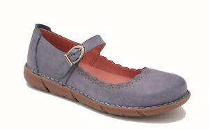 RRP £65.00 Oxygen Stitch Down T Bar Shoe CASCAIS BLUE sizes 36 to 41 UK 3-7.5