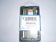 Kingston 8GB SO-DIMM 1600MHz PC3-12800 DDR3L 204-pin SDRAM Memory KVR16LS11/8