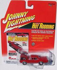 JOHNNY LIGHTNING R9 POPULAR HOT RODDING 1967 OLDS CUTLASS 442 rubber tires