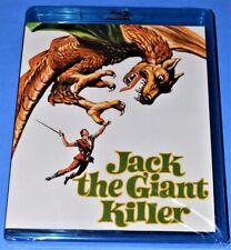 NEW KINO LORBER KERWIN MATHEWS JACK THE GIANT KILLER FANTASY MOVIE BLU RAY 1962
