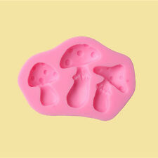 Silicone mushroom Shape Cake Mould Fondant Chocolate Icing Pastry DIY