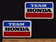 TEAM HONDA Vintage Motocross Superbike STICKER Decal CR250R CR125R CB900F CB750F