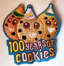 New 100 Years of Cookies fun patch for Girl Scouts