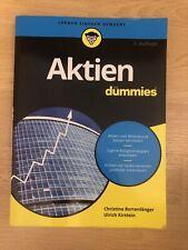 Aktien für Dummies von Christine Bortenlänger (2018, Taschenbuch)