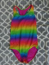 Speedo Girls swimsuit Rainbow  Size 14