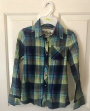 Girls mudd Plaid Button Up