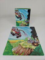 Vintage MASK Thunderhawk 200 pc Jigsaw Puzzle Kenner Golden 1986 ~ Complete