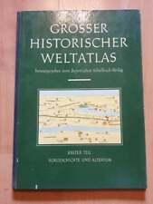 Livre - Grosser Historischer Weltatlas - Très bon état