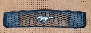2005-2009 Ford Mustang Base Grille Black with Pony Emblem 05 06 07 08 09