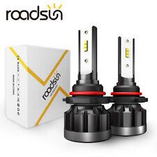 2× CSP 9006 HB4 LED Headlight Kit 200W 48000LM High Beam White 6000K Light Bulb