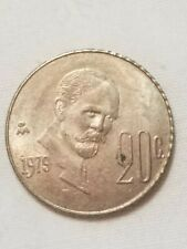 New listing 1979 20 Centavos Estados Unidos Mexicanos Mexico Peso Coin Money Currency 1979B