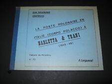 A. Longueval: La poste Polonaise en Italie (Corpo Polacco) a Barletta & Trani